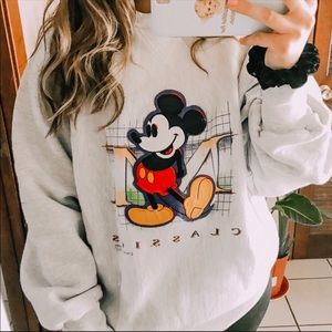 Mickey Mouse vintage crew neck sweater